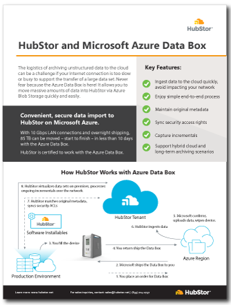 azure data box datasheet